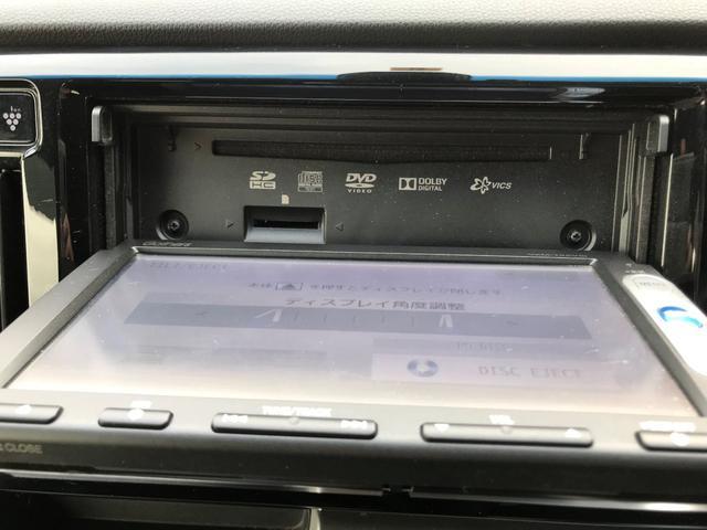 この車両は、DVDを見る事が可能です。
