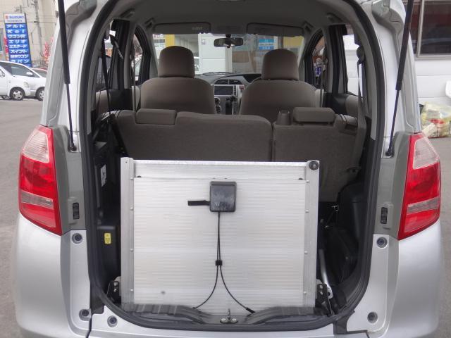 X 福祉車両 スロープタイプ タイプ1 HDDナビ(3枚目)
