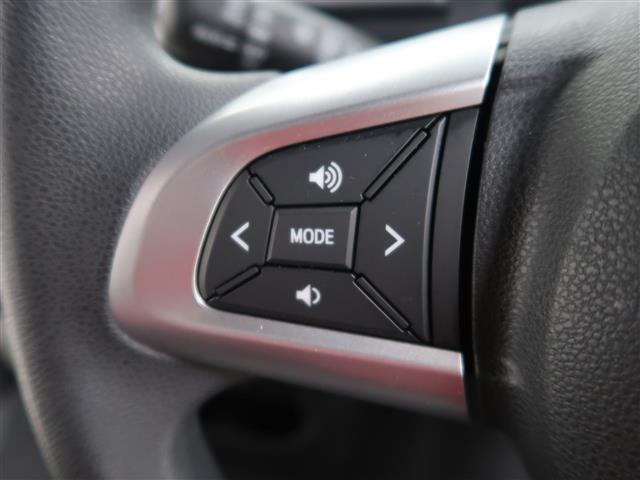 ステアリングスイッチ(オーディオレス)  純正ナビやオーディオを取付していただければ、ステアリングスイッチで音量調節、チャンネル選択、ソース選択が手元でできます。