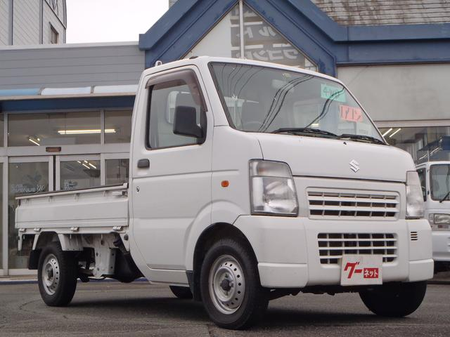 KCエアコン・パワステ 5速マニュアル 4WD 車検整備付き(2枚目)
