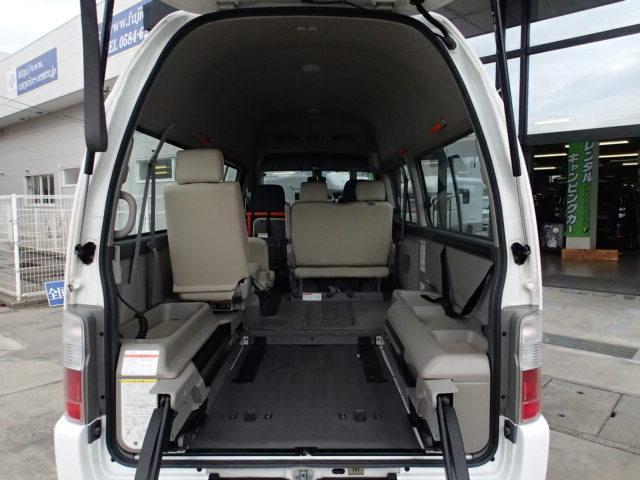 チェアキャブ福祉車両 M仕様リフト 10人2台 電動ステップ(6枚目)