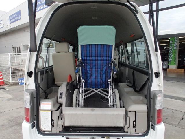 チェアキャブ福祉車両 M仕様リフト 10人2台 電動ステップ(7枚目)