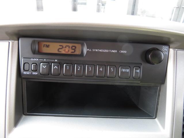純正AM・FMラジオ