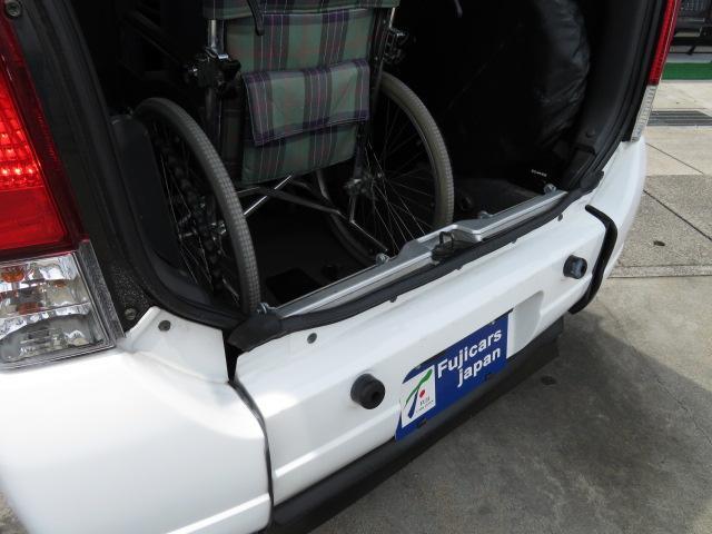 スズキ ワゴンR ウィズシリーズ福祉車両 スロープ 3人 8ナン 電動固定