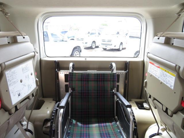 日産 セレナ チェアキャブ福祉車両 スロープ8人 ニールダウン 電動固定