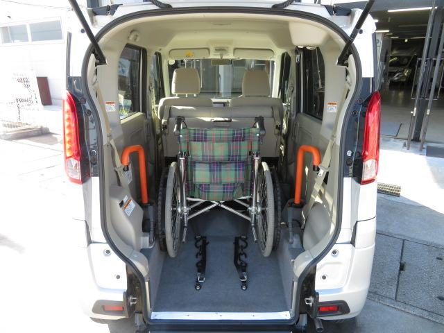 スズキ スペーシア ウィズシリーズ福祉車両 スロープ ナビ アイドリングストップ