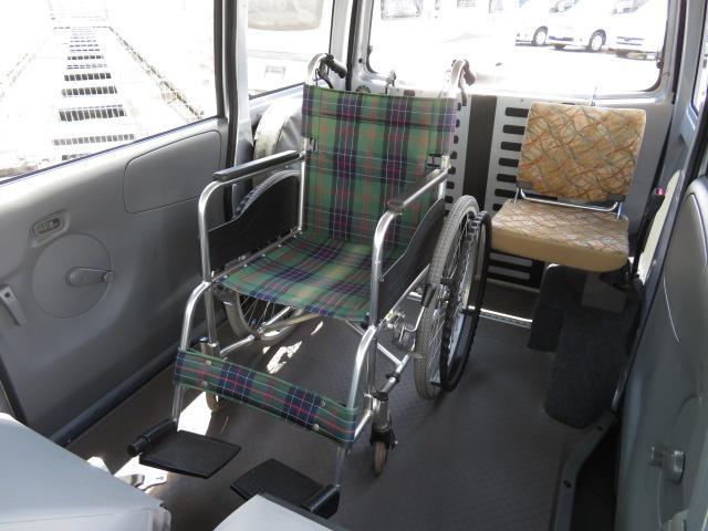 チェアキャブ スロープ 4人乗り 8ナンバー 補助席付き(7枚目)