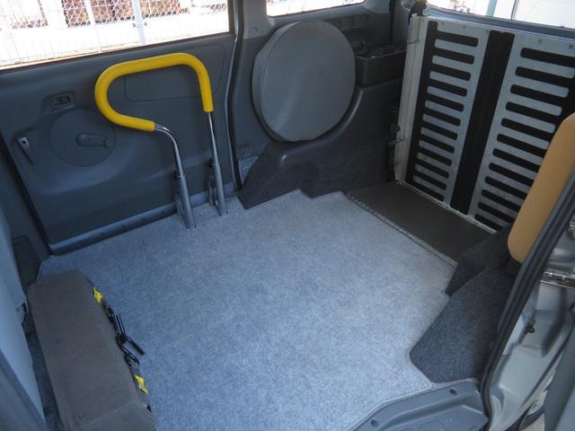 チェアキャブ スロープ 補助席付き 4人乗り 電動ウィンチ(5枚目)