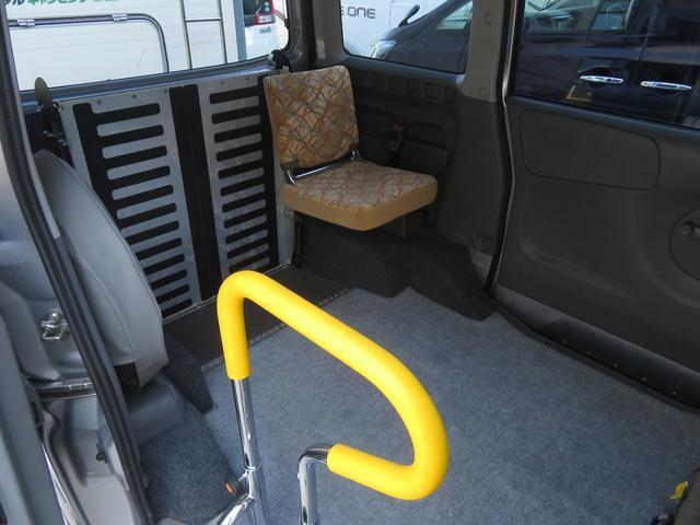 チェアキャブ スロープ 補助席付き 4人乗り 電動ウィンチ(7枚目)