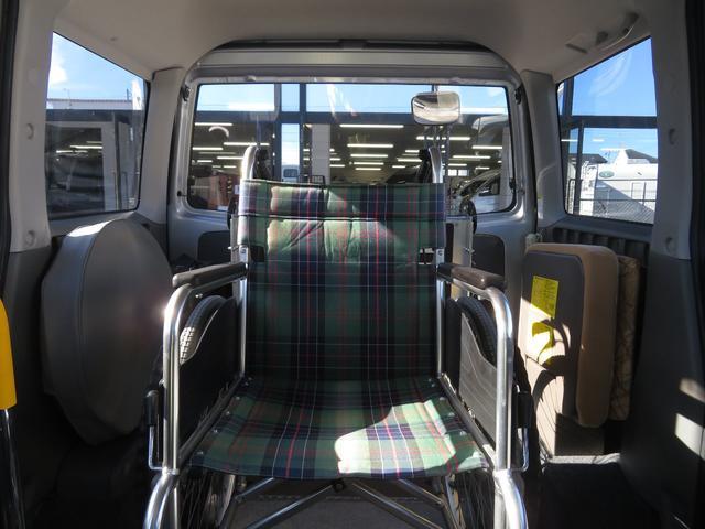 チェアキャブ スロープ 補助席付き 4人乗り 電動ウィンチ(10枚目)