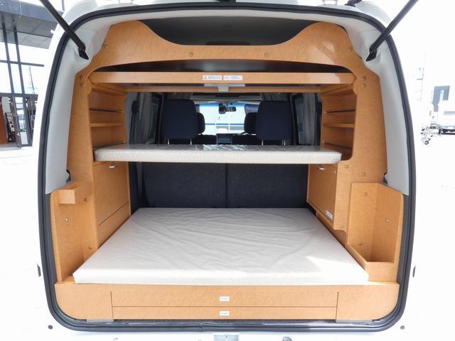 ダイハツクラフト製 楽旅 サブバッテリー 走行充電 インバーター350W カーテン ベッドキット ナビ バックカメラ ETC 切り替え4WD パワーミラー(2枚目)