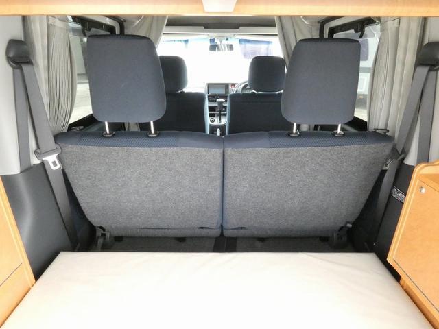ダイハツクラフト製 楽旅 サブバッテリー 走行充電 インバーター350W カーテン ベッドキット ナビ バックカメラ ETC 切り替え4WD パワーミラー(12枚目)