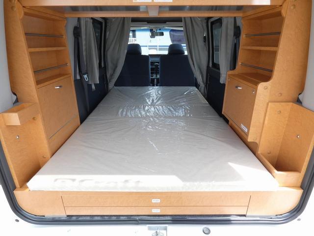 ダイハツクラフト製 楽旅 サブバッテリー 走行充電 インバーター350W カーテン ベッドキット ナビ バックカメラ ETC 切り替え4WD パワーミラー(14枚目)