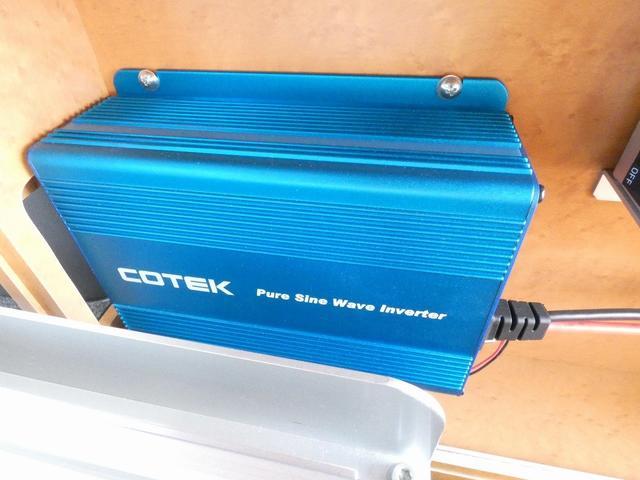 ダイハツクラフト製 楽旅 サブバッテリー 走行充電 インバーター350W カーテン ベッドキット ナビ バックカメラ ETC 切り替え4WD パワーミラー(20枚目)