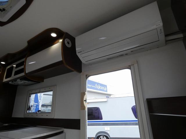 ミスティック アンセイエ 8ナンバーキャンピングカー 家庭用エアコン トリプルサブバッテリー インバーター1500W 燃料式FFヒーター サイドオーニング 社外ショック&ライドライトエアサス(8枚目)