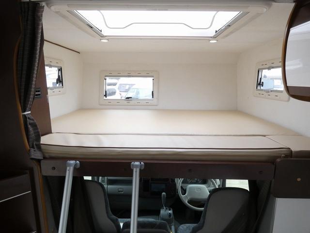 ミスティック アンセイエ 8ナンバーキャンピングカー 家庭用エアコン トリプルサブバッテリー インバーター1500W 燃料式FFヒーター サイドオーニング 社外ショック&ライドライトエアサス(22枚目)