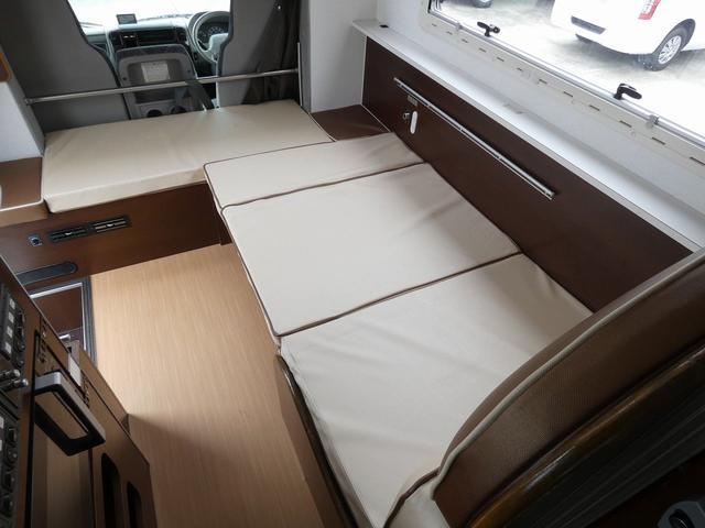 ミスティック アンセイエ 8ナンバーキャンピングカー 家庭用エアコン トリプルサブバッテリー インバーター1500W 燃料式FFヒーター サイドオーニング 社外ショック&ライドライトエアサス(26枚目)
