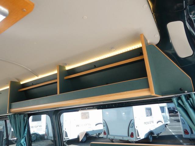 オリジナルキャンピングカー 8ナンバーキャンピング登録 8名乗車5名就寝 サブバッテリー シンク 給排水タンク 外部電源 間接照明 インバーターリアTV 地デジチューナー(15枚目)