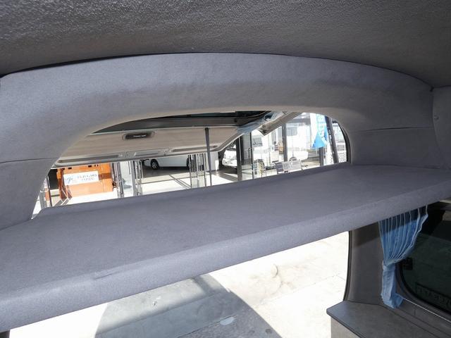 ピーズクラフト クラフトキャンパー 8ナンバーキャンピングカー サブバッテリー 走行充電 シンク FFヒーター リアクーラーヒーター 常設ベッド トランスポーター ファスプシート ナビ バックカメラ ETC ABS(16枚目)