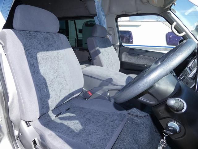 ピーズクラフト クラフトキャンパー 8ナンバーキャンピングカー サブバッテリー 走行充電 シンク FFヒーター リアクーラーヒーター 常設ベッド トランスポーター ファスプシート ナビ バックカメラ ETC ABS(24枚目)