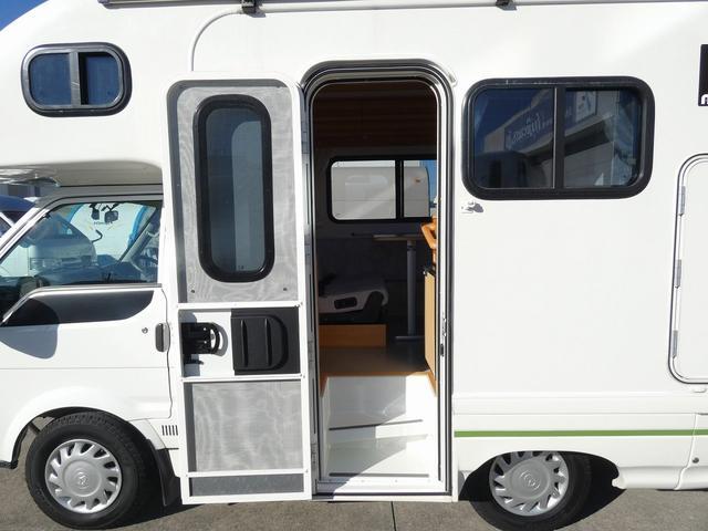 AtoZ アミティ 8ナンバーキャンピングカー サブバッテリー 走行充電 外部電源 リアTV シンク 冷蔵庫 常設2段ベッド マックスファン バックモニター 走行用リアクーラー(2枚目)