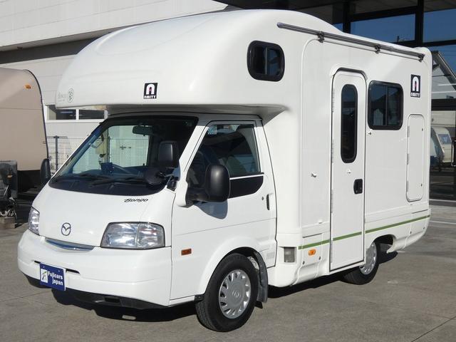 AtoZ アミティ 8ナンバーキャンピングカー サブバッテリー 走行充電 外部電源 リアTV シンク 冷蔵庫 常設2段ベッド マックスファン バックモニター 走行用リアクーラー(34枚目)