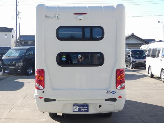 AtoZ アミティ 8ナンバーキャンピングカー サブバッテリー 走行充電 外部電源 リアTV シンク 冷蔵庫 常設2段ベッド マックスファン バックモニター 走行用リアクーラー(38枚目)
