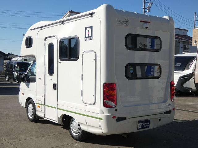 AtoZ アミティ 8ナンバーキャンピングカー サブバッテリー 走行充電 外部電源 リアTV シンク 冷蔵庫 常設2段ベッド マックスファン バックモニター 走行用リアクーラー(39枚目)