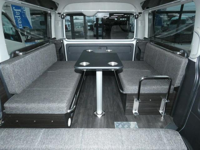 アネックス ファミリーワゴン 3ナンバーキャンピング仕様 サブバッテリー 走行充電 12V電源 LEDヘッドライト スマートキー ナビ バックカメラ ETC ドライブレコーダー(6枚目)