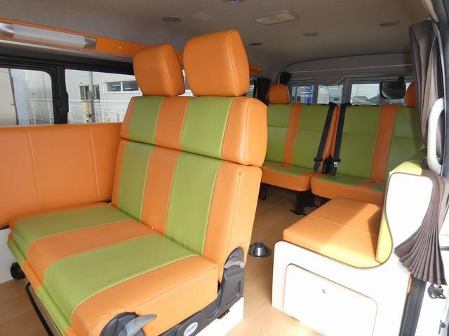 かーいんてりあ高橋リラックスワゴン 3ナンバーキャンピングカー仕様 車中泊 サブバッテリー 走行充電 外部充電 インバーター1500W FFヒーター リアTV(2枚目)