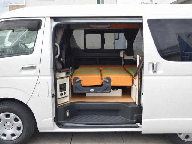 かーいんてりあ高橋リラックスワゴン 3ナンバーキャンピングカー仕様 車中泊 サブバッテリー 走行充電 外部充電 インバーター1500W FFヒーター リアTV(10枚目)