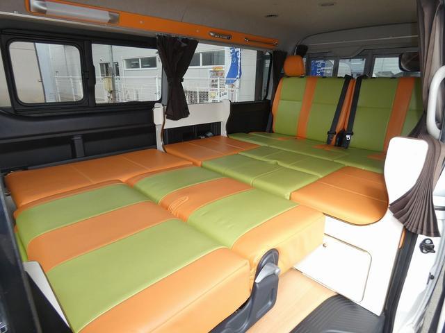 かーいんてりあ高橋リラックスワゴン 3ナンバーキャンピングカー仕様 車中泊 サブバッテリー 走行充電 外部充電 インバーター1500W FFヒーター リアTV(11枚目)