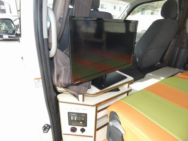 かーいんてりあ高橋リラックスワゴン 3ナンバーキャンピングカー仕様 車中泊 サブバッテリー 走行充電 外部充電 インバーター1500W FFヒーター リアTV(15枚目)