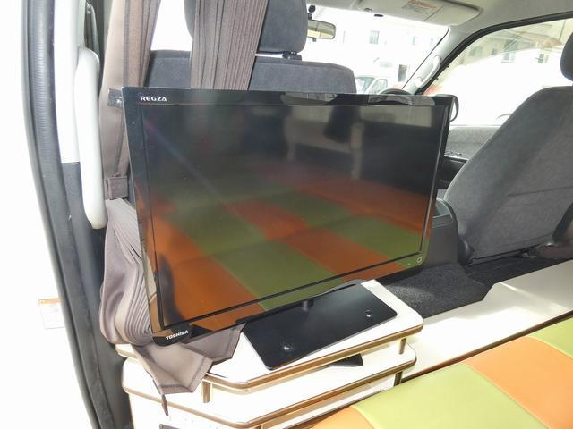 かーいんてりあ高橋リラックスワゴン 3ナンバーキャンピングカー仕様 車中泊 サブバッテリー 走行充電 外部充電 インバーター1500W FFヒーター リアTV(16枚目)