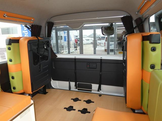 かーいんてりあ高橋リラックスワゴン 3ナンバーキャンピングカー仕様 車中泊 サブバッテリー 走行充電 外部充電 インバーター1500W FFヒーター リアTV(21枚目)