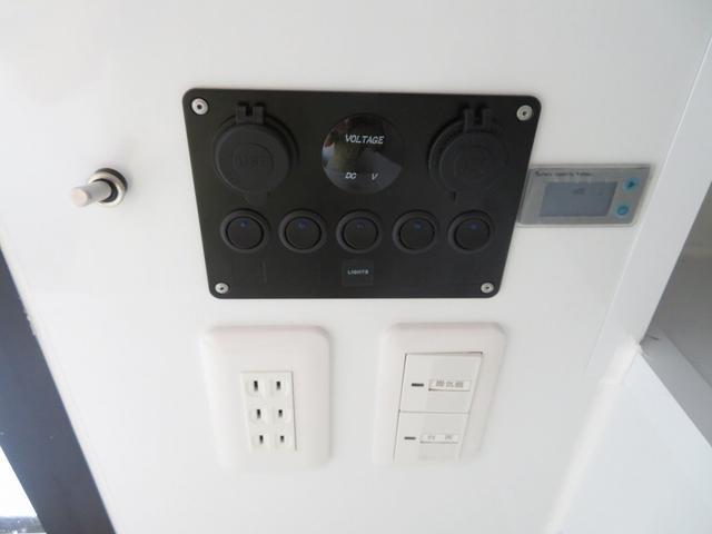 KCエアコン・パワステ 移動販売車 キッチンカー 4WD スズキセーフティサポートデュアルカメラ バックカメラ 正弦波インバーター サブバッテリー 外部充電 ステンレスシンク 給水排水タンク サッシ LEDライト 4ナンバー(13枚目)