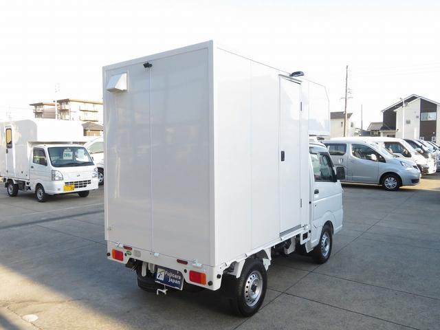 KCエアコン・パワステ 移動販売車 キッチンカー 4WD スズキセーフティサポートデュアルカメラ バックカメラ 正弦波インバーター サブバッテリー 外部充電 ステンレスシンク 給水排水タンク サッシ LEDライト 4ナンバー(33枚目)