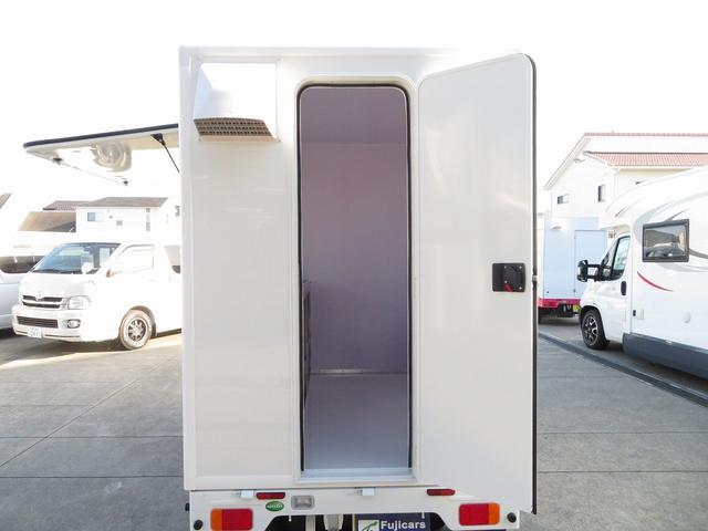 DX 移動販売車両 キッチンカー シンク 給水排水タンク 換気扇 100V外部電源 ステンレス製カウンター LED室内照明 Wエアバック ABS パワステ 4ナンバー登録(6枚目)