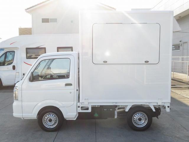 DX 移動販売車両 キッチンカー シンク 給水排水タンク 換気扇 100V外部電源 ステンレス製カウンター LED室内照明 Wエアバック ABS パワステ 4ナンバー登録(32枚目)