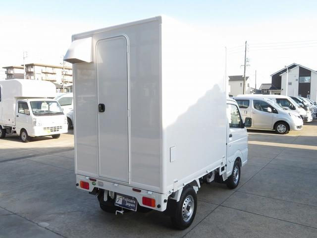DX 移動販売車両 キッチンカー シンク 給水排水タンク 換気扇 100V外部電源 ステンレス製カウンター LED室内照明 Wエアバック ABS パワステ 4ナンバー登録(34枚目)