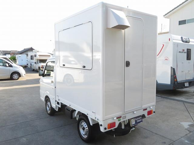 DX 移動販売車両 キッチンカー シンク 給水排水タンク 換気扇 100V外部電源 ステンレス製カウンター LED室内照明 Wエアバック ABS パワステ 4ナンバー登録(35枚目)