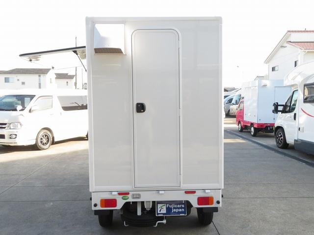 DX 移動販売車両 キッチンカー シンク 給水排水タンク 換気扇 100V外部電源 ステンレス製カウンター LED室内照明 Wエアバック ABS パワステ 4ナンバー登録(37枚目)