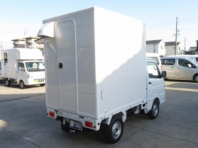 DX 移動販売車両 キッチンカー シンク 給水排水タンク 換気扇 100V外部電源 ステンレス製カウンター LED室内照明 Wエアバック ABS パワステ 4ナンバー登録(38枚目)