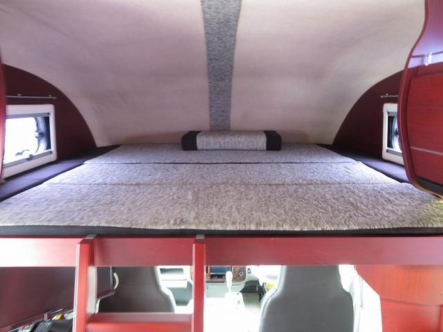 ナッツRV クレア5.0S 8ナンバーキャンピングカー ツインサブバッテリー サイドオーニング マルチルーム FFヒーター 走行用リアクーラー BSアンテナ インバーター1500W 冷蔵庫 ソーラーパネル(22枚目)