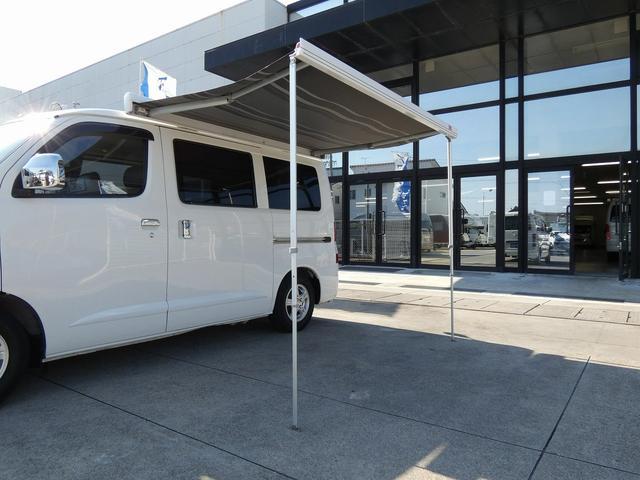 ステージ21 リゾートデュオユーロ キャンピングカー 4WD サブバッテリー ルーフベント サイドオーニング ローダウンサス インバーター1500W ポータブル冷蔵庫 べバストFFヒーター シンク 給排水タンク(39枚目)