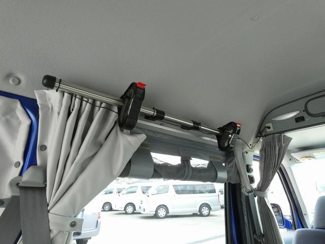 ホワイトハウス製マイボックス 5ナンバーキャンピング仕様 ターボ 4WD サブバッテリー 走行充電 外部充電 ソーラーパネル シンク 収納棚 ベッドマット テーブル(19枚目)
