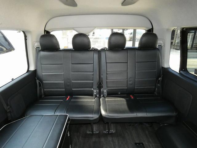 フレックス製 アレンジCT 3ナンバー車中泊仕様 10名乗車 社外ハンドル 社外テールライト ローダウン LEDヘッドライト スマートキー フルフラットサイズ長さ2600mm幅1400mm(7枚目)