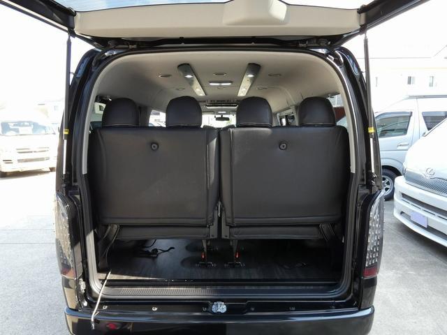 フレックス製 アレンジCT 3ナンバー車中泊仕様 10名乗車 社外ハンドル 社外テールライト ローダウン LEDヘッドライト スマートキー フルフラットサイズ長さ2600mm幅1400mm(10枚目)