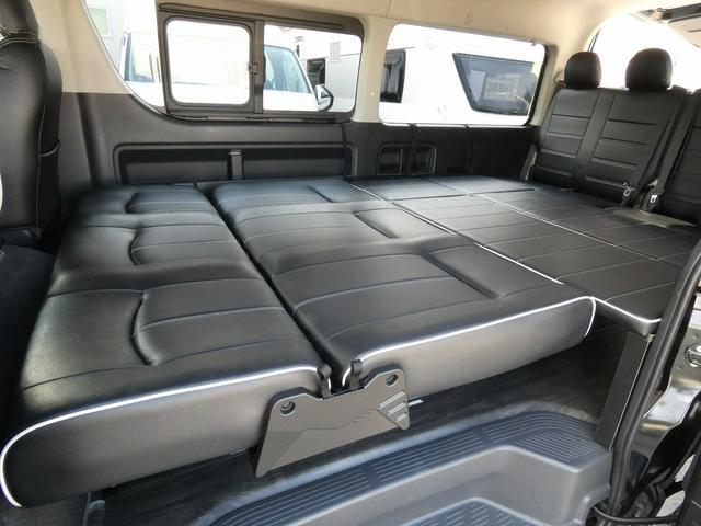 フレックス製 アレンジCT 3ナンバー車中泊仕様 10名乗車 社外ハンドル 社外テールライト ローダウン LEDヘッドライト スマートキー フルフラットサイズ長さ2600mm幅1400mm(11枚目)