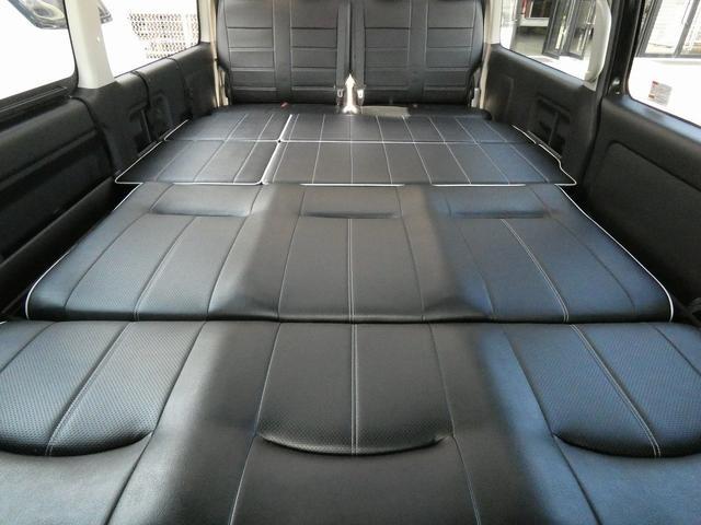 フレックス製 アレンジCT 3ナンバー車中泊仕様 10名乗車 社外ハンドル 社外テールライト ローダウン LEDヘッドライト スマートキー フルフラットサイズ長さ2600mm幅1400mm(13枚目)